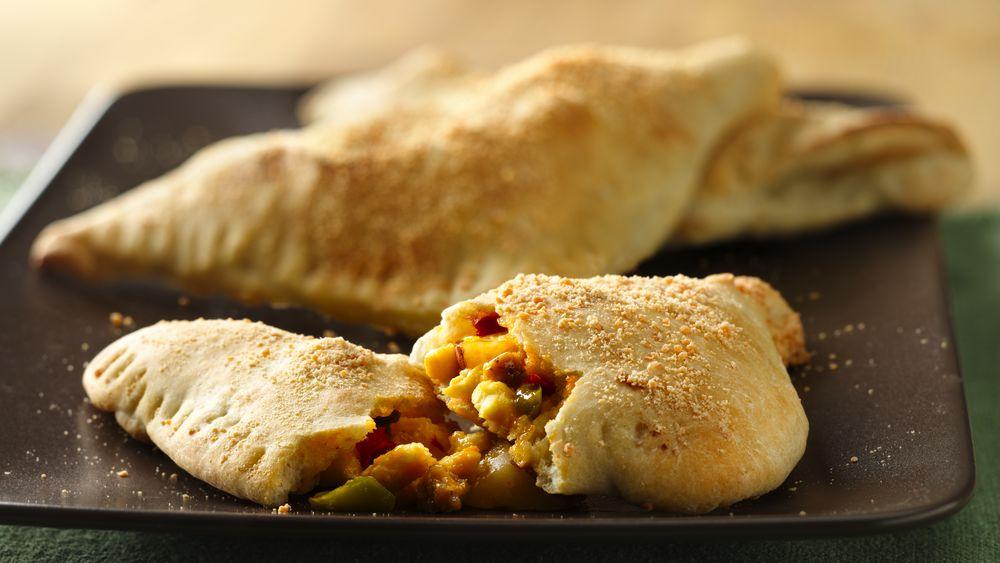 Egg-Stuffed Breakfast Calzones