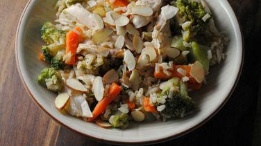 Brown Rice Turkey Salad