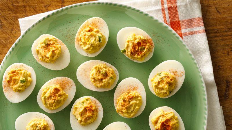 Dijon Deviled Eggs