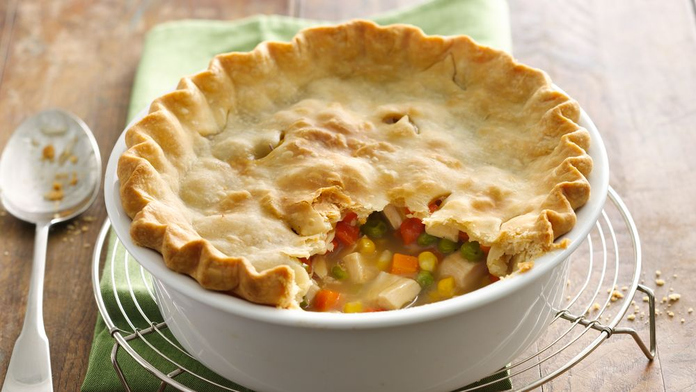 Easy Chicken Pot Pie recipe from Pillsbury.com