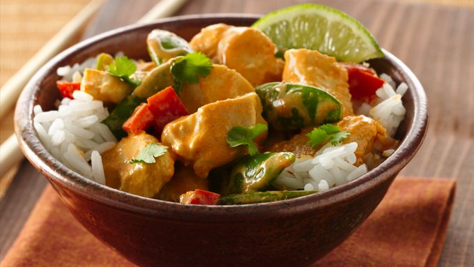 Thai Red Curry Coconut  Chicken