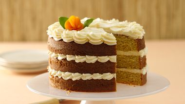 Apricots and Cream Cheese Cake