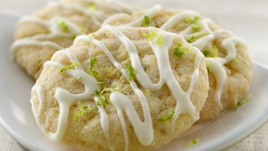 Lime-Ginger Cookies