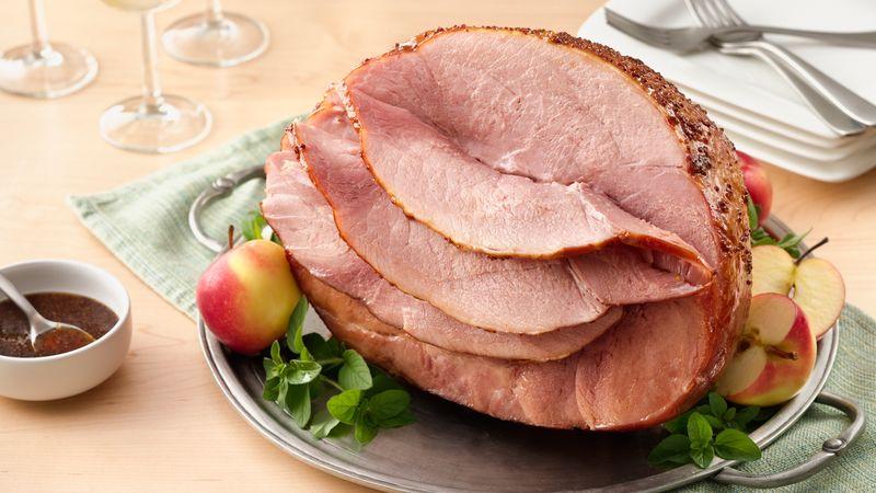 Sticky Baked Ham
