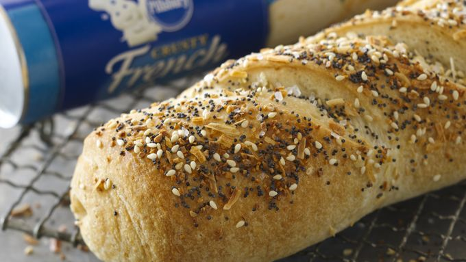 Everything Bagel French Bread
