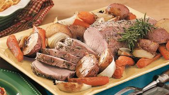 Oven-Roasted Pork and Vegetables
