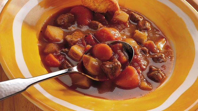 Skillet Beef and Vegetable Stew