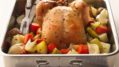 Thyme-Roasted Chicken with Vegetables