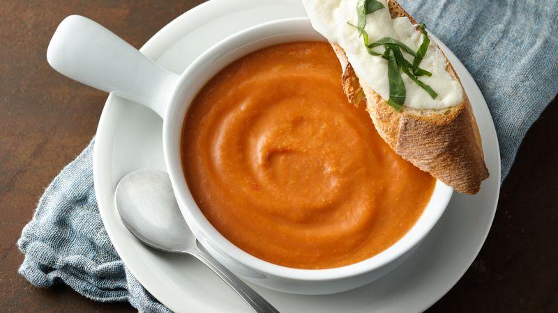 Easy Caprese Soup