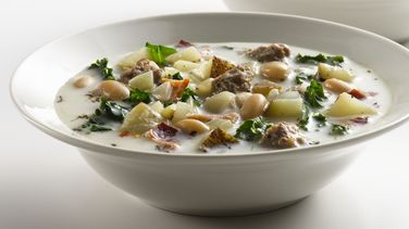 Sopa de Salchicha a la Italiana