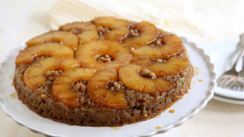 Pineapple-Zucchini Upside-Down Cake