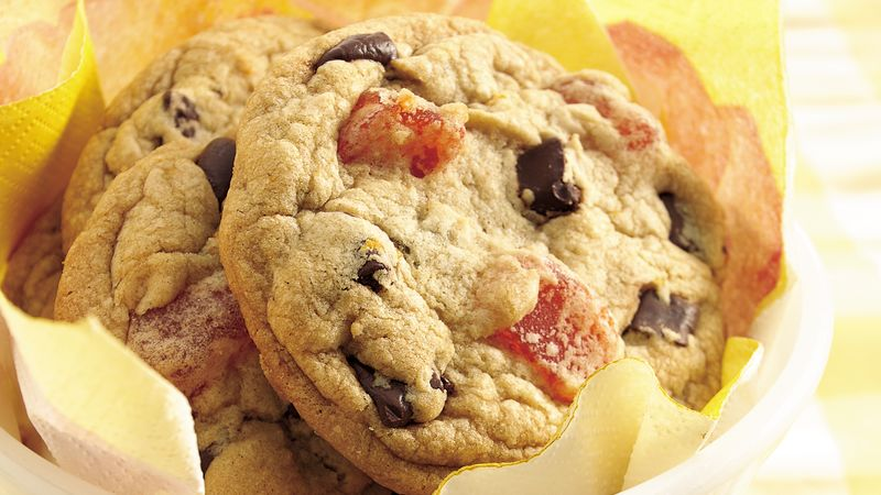 Orange-Chocolate Chunk Cookies