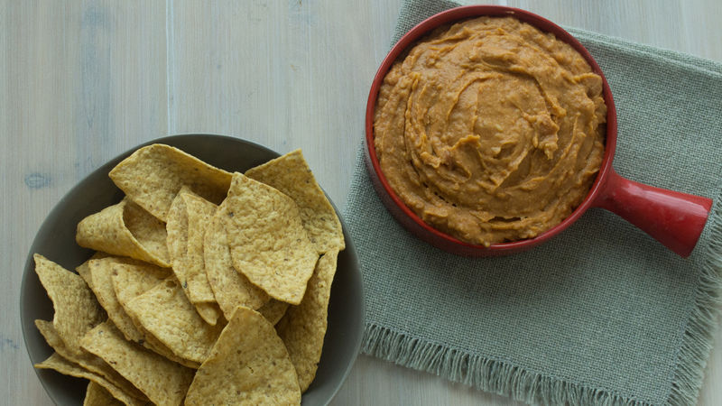 One Minute Mexican Hummus