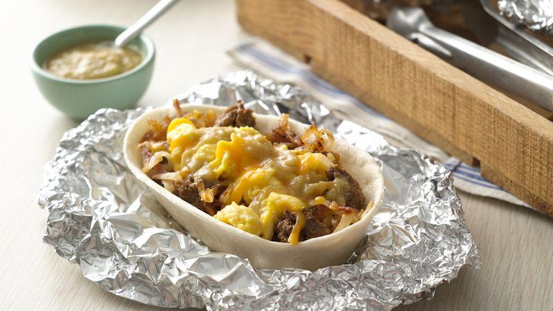 Breakfast Burrito Taco Boats™