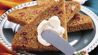 Bread Machine Cranberry-Pumpkin Bread