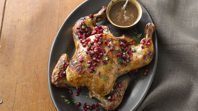 Moroccan Spatchcocked Chicken