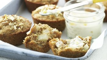 Skinny Ginger-Pear Muffins
