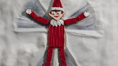 Snow Angel Elf Cookie