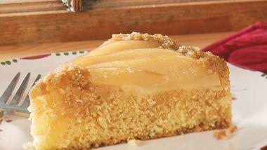 Classic Pear Upside-Down Cake