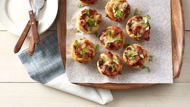 Muffin-Tin Italian Sausage Pizzas
