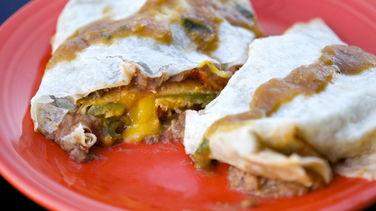 Chile-Stuffed Burrito