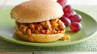 Healthy Slow-Cooker Tex-Mex Sloppy Joes