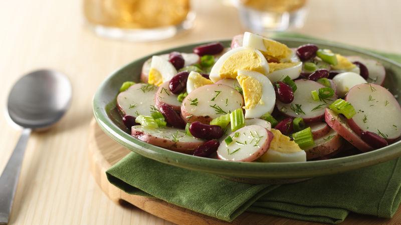 Dilled Potato-Bean Salad
