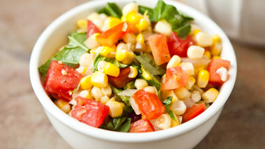 Basil-Corn Salad
