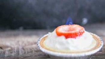 Strawberry-Lemon Mini Cheesecakes