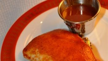 Baked Chicken with Homemade Orange-Barbecue Sauce