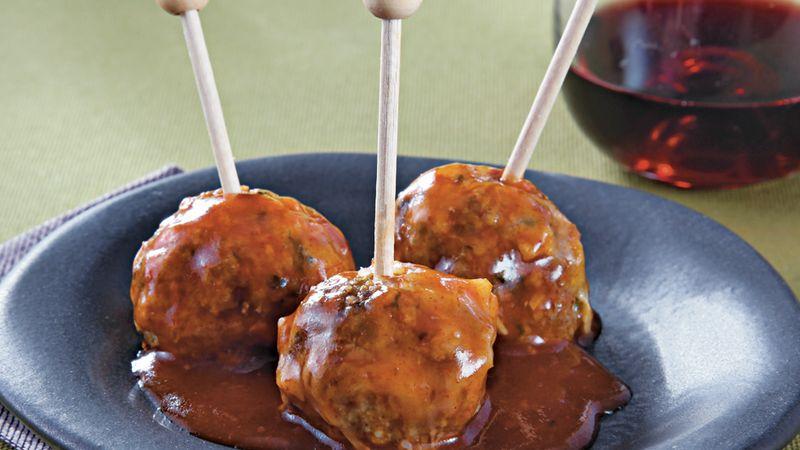 Slow-Cooker Enchilada Meatballs