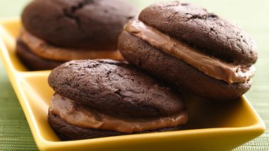Triple Chocolate Stout Whoopie Pies
