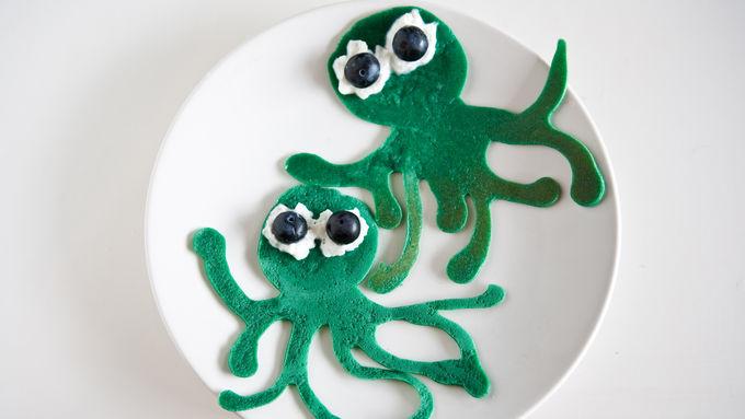 Sea Creature Pancakes