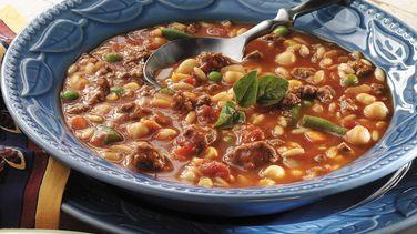 Greek Minestrone Soup
