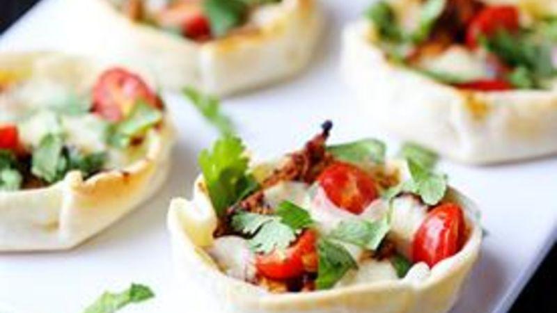Open-Faced Chicken Empanadas