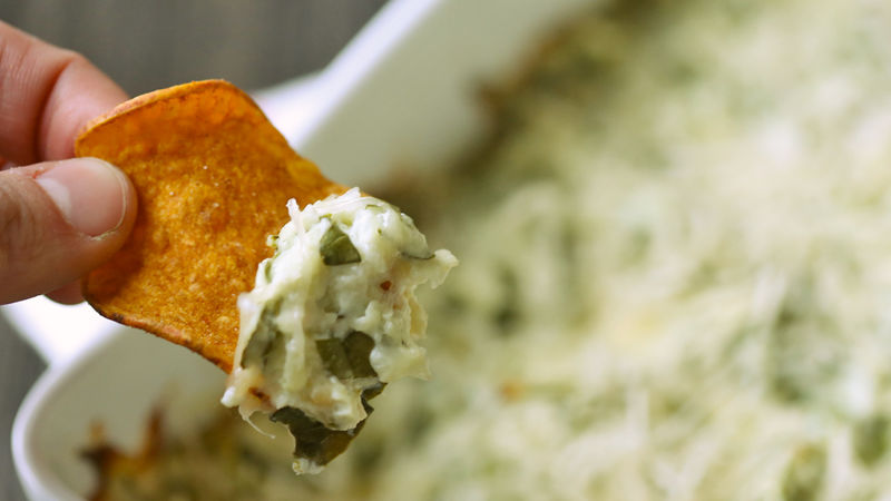 Skinny Spinach Dip recipe - from Tablespoon!