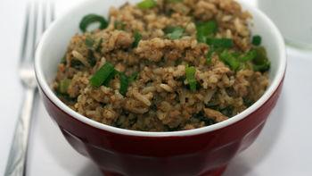 Cast-Iron Skillet Chicken Dirty Rice