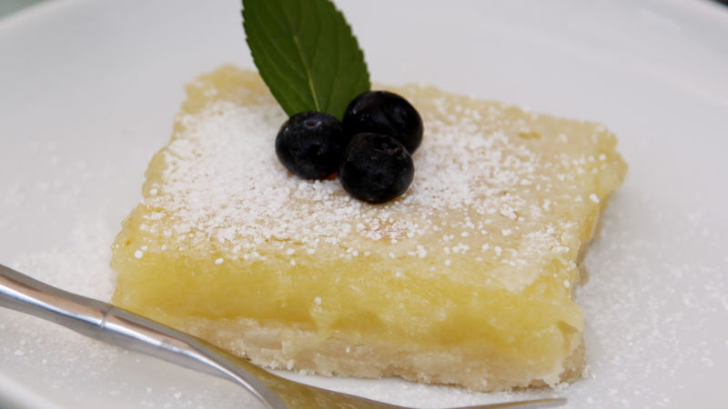 Limoncello Lemon Bars