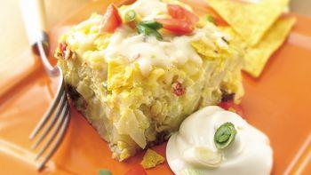 Cheesy Chile and Egg Bake