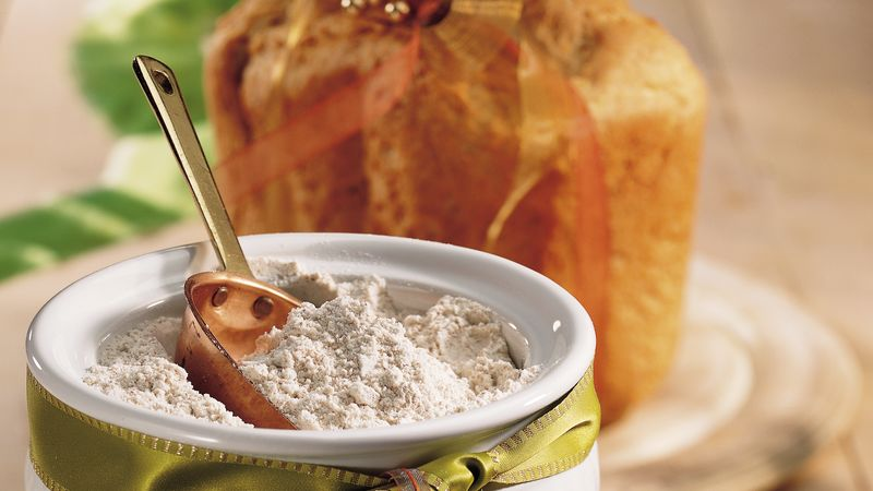 Homemade Wheat Bread Machine Mix