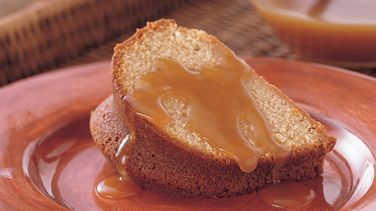 Brown Sugar Bundt Cake with Buttery Brown Sugar Sauce