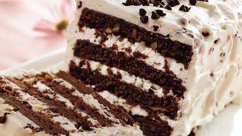 Chocolate Chip Brownie Torte
