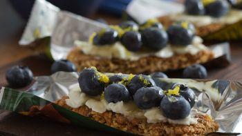 Blueberry Ricotta Granola Bars