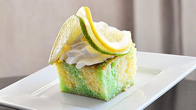 Lemon Jello Cake Recipe Poke: Lemon-Lime Poke Cake Recipe