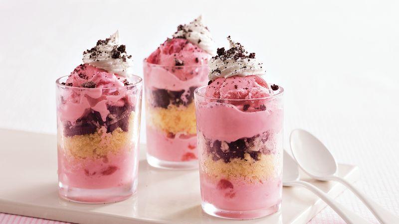 Cake and Ice Cream Shots