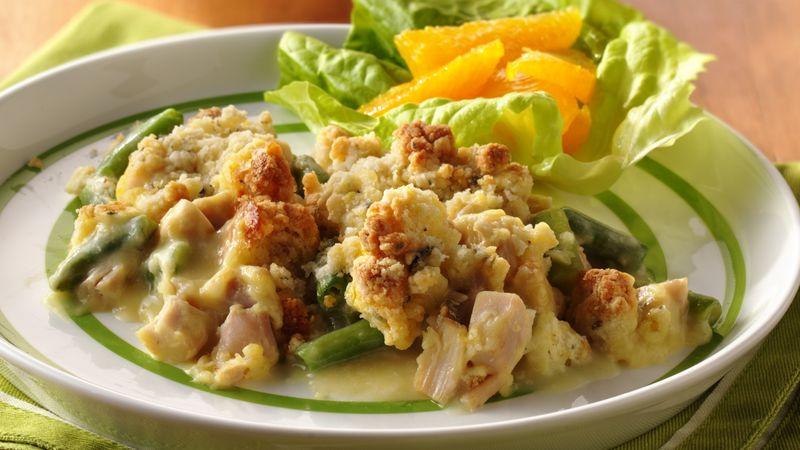 Savory Chicken Oven Dinner