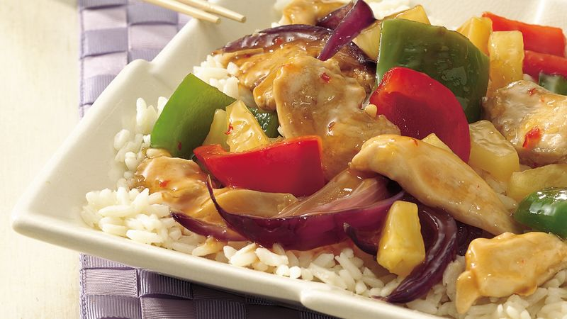 Chicken and Sweet Pepper Stir-Fry