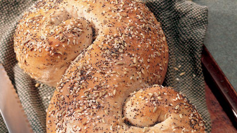 Triple-Seed Wheat Bread