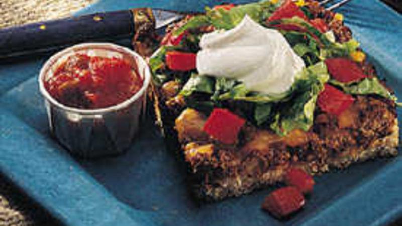 Baked Taco Sandwich