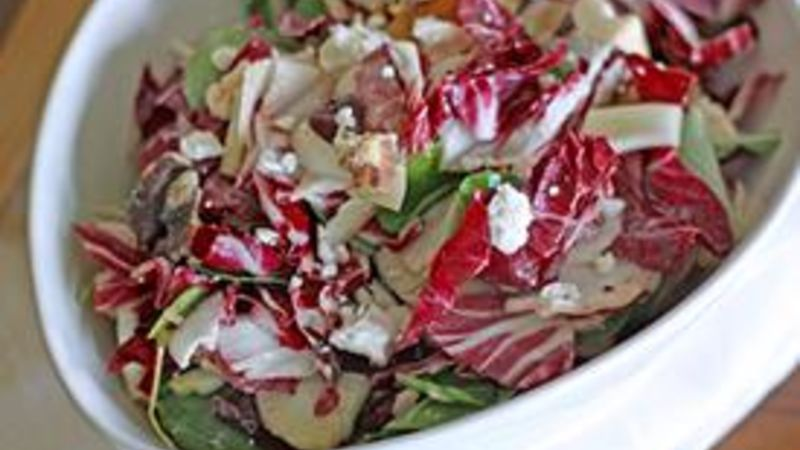 Radicchio, Watercress and Fennel Salad